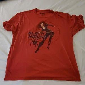 Marvel Blackwidow T shirt